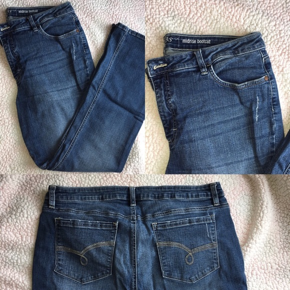 f80da1b9168 Riders by Lee midrise bootcut jeans size 18M. M_5c23bf324ab633d69160867f